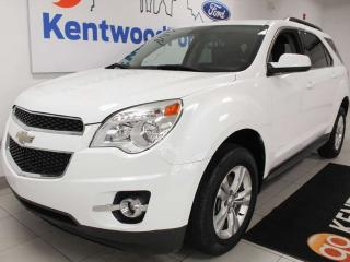 Used 2010 Chevrolet Equinox 1LT AWD in winter white. Be prepared. Winter is coming for sale in Edmonton, AB