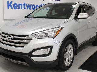 Used 2015 Hyundai Santa Fe Sport Limited Sport 2.0T AWD with NAV, sunroof, heated/cooled power leather seats, heated rear seats, back up cam, power liftgate for sale in Edmonton, AB