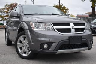 Used 2013 Dodge Journey Crew - CERTIFIED - NO ACCIDENTS for sale in Oakville, ON