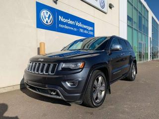 Used 2014 Jeep Grand Cherokee OVERLAND 3.0L DIESEL - LOADED for sale in Edmonton, AB
