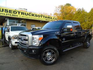 Used 2014 Ford F-350 Platinum for sale in Ottawa, ON