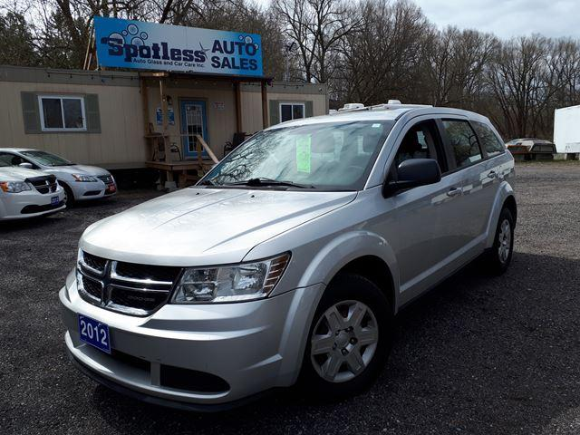 2012 Dodge Journey Canada Value Pkg