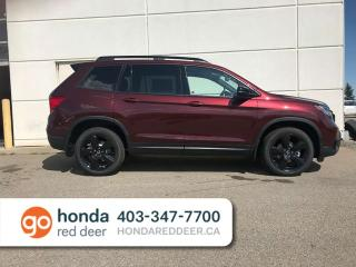 Used 2019 Honda Passport Touring Navigation Remote Start Sunroof for sale in Red Deer, AB