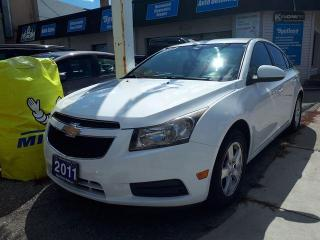 Used 2011 Chevrolet Cruze LT Turbo+ w/1SB for sale in Whitby, ON