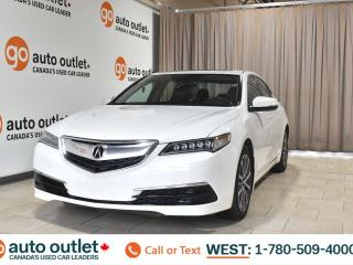 Used 2015 Acura TLX Tech, 3.5L V6, Fwd, Navigation, Heated leather seats, Backup camera, Sunroof. Bluetooth for sale in Edmonton, AB