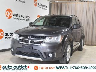 Used 2016 Dodge Journey R/T, 3.6L V6, Awd, Third row 7 passenger seating, Navigation, Heated leather seats, Heated steering wheel, Backup camera, Bluetooth for sale in Edmonton, AB