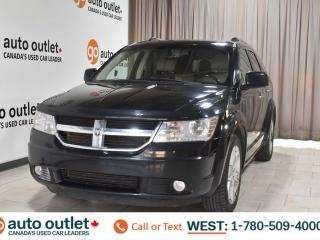 Used 2010 Dodge Journey Rt, 3.5L V6, Awd, Third row 7 passenger seating, Navigation, Heated leather seats, Backup camera, Bluetooth for sale in Edmonton, AB