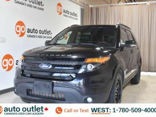 Used 2015 Ford Explorer Sport, 3.5L V6, 4wd, Third row 7 passenger seating, Navigation, Heated leather seats, Backup camera, Sunroof/Moonroof, Bluetooth for sale in Edmonton, AB