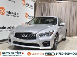 Used 2015 Infiniti Q50 Sport, 3,7L V6, Awd, Navigation, Heated leather seats, Backup camera, Sunroof, Bluetooth for sale in Edmonton, AB
