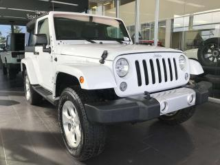 Used 2015 Jeep Wrangler SAHARA 4WD, CRUISE CONTROL, STEERING WHEEL CONTROLS, SIRIUS XM CAPABILITY for sale in Edmonton, AB