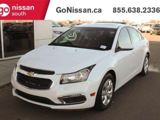 Used 2015 Chevrolet Cruze BACK UP CAMERA BLUETOOTH SUNROOF for sale in Edmonton, AB