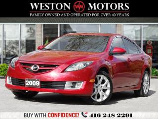 Used 2009 Mazda MAZDA6 GT*V6*SUNROOF*LEATHER*NAVI!* for sale in Toronto, ON