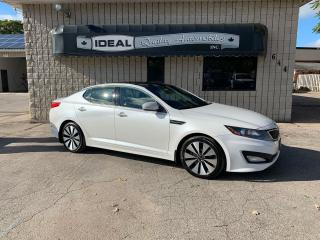 Used 2011 Kia Optima SX for sale in Mount Brydges, ON