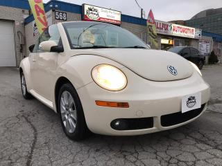 Used 2008 Volkswagen New Beetle Low Mileage | Convertible | Automatic | for sale in Oakville, ON