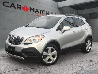 Used 2016 Buick Encore LEATHER-CLOTH / NO ACCIDENTS for sale in Cambridge, ON
