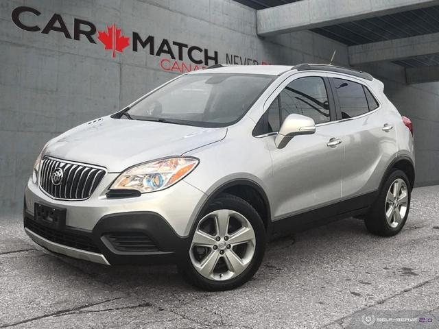 2016 Buick Encore LEATHER-CLOTH / NO ACCIDENTS