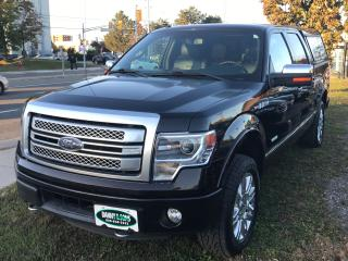 Used 2014 Ford F-150 PLATINUM for sale in Mississauga, ON