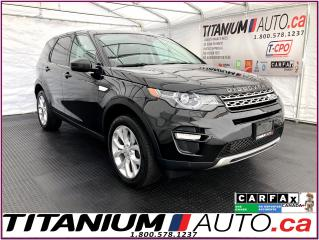 Used 2016 Land Rover Discovery Sport HSE Si4+Blind Spot+GPS+Camera+Pano Roof+Lane Assis for sale in London, ON