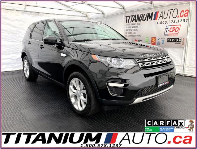 2016 Land Rover Discovery Sport HSE Si4+Blind Spot+GPS+Camera+Pano Roof+Lane Assis