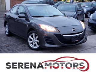 Used 2010 Mazda MAZDA3 GS   AUTO   BLUETOOTH   NO ACCIDENTS for sale in Mississauga, ON
