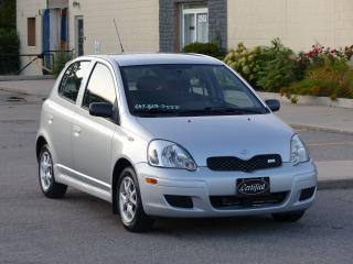 Used 2005 Toyota Echo RS,AUTO,AIR CONDITIONING,ALLOYS,SHOWROOM CONDITION for sale in Mississauga, ON