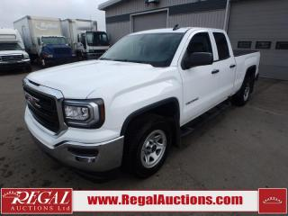 Used 2017 GMC SIERRA 1500 BASE DOUBLE CAB SWB 2WD 4.3L for sale in Calgary, AB