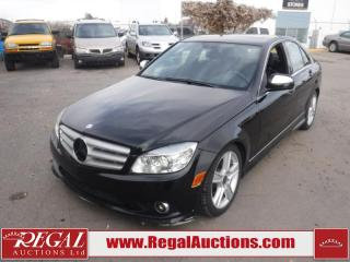 Used 2009 Mercedes-Benz C-Class C300 4D Sedan 4MATIC AWD 3.0L for sale in Calgary, AB
