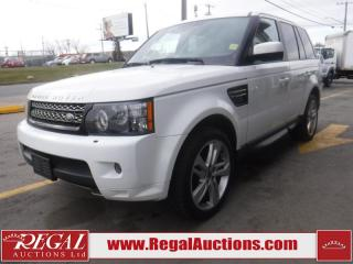 Used 2013 Land Rover Range Rover Sport Supercharged 4D Utility AWD for sale in Calgary, AB