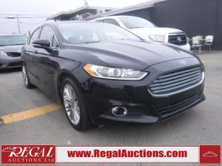 Used 2013 Ford Fusion SE 4D Sedan for sale in Calgary, AB
