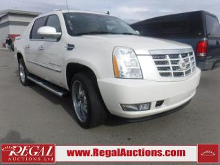 Used 2008 Cadillac ESCALADE  4D UTILITY EXT 4WD for sale in Calgary, AB