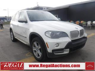 Used 2008 BMW X5 4D Utility AWD for sale in Calgary, AB