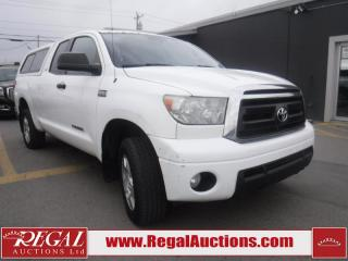 Used 2010 Toyota Tundra 4D Double CAB 4WD for sale in Calgary, AB