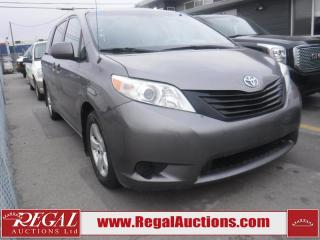 Used 2012 Toyota SIENNA BASE 4D WAGON 7 PASS for sale in Calgary, AB