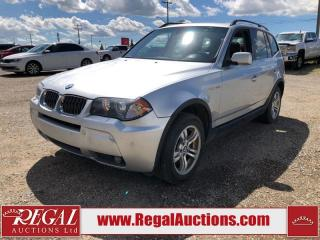 Used 2006 BMW X3 4D Utility AWD for sale in Calgary, AB