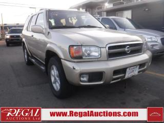 Used 2002 Nissan Pathfinder SE 4D Utility 4WD for sale in Calgary, AB