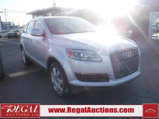 Used 2008 Audi Q7 PREMIUM 4D UTILITY 3.6 AWD for sale in Calgary, AB