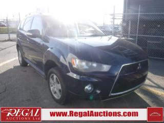 Used 2013 Mitsubishi Outlander LS 4D Utility 4WD for sale in Calgary, AB