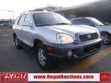 Photo of Silver 2004 Hyundai Santa Fe