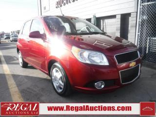 Used 2010 Chevrolet Aveo LT 4D Hatchback for sale in Calgary, AB