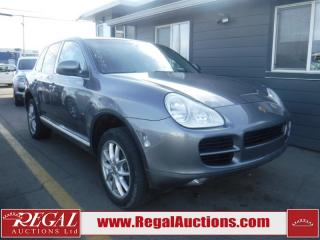 Used 2005 Porsche Cayenne 4D Utility 4WD for sale in Calgary, AB