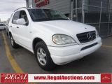 2001 Mercedes-Benz ML 320 4D UTILITY AWD