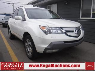 Used 2009 Acura MDX 4D Utility 4WD for sale in Calgary, AB