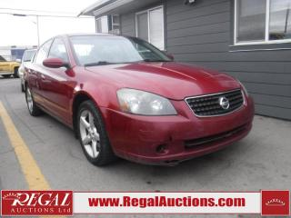Used 2005 Nissan Altima SE 4D Sedan for sale in Calgary, AB