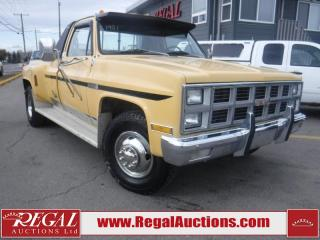 Used 1981 GMC C3500  2D EXTENDED CAB for sale in Calgary, AB