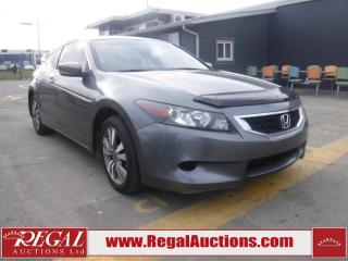 Used 2009 Honda Accord EX 2D Coupe for sale in Calgary, AB