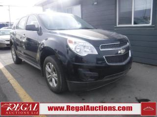 Used 2012 Chevrolet Equinox 4D Utility FWD for sale in Calgary, AB