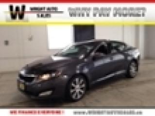 Used 2013 Kia Optima EX|NAVIGATION|MOON ROOF|LEATHER|90,447 KMS for sale in Cambridge, ON