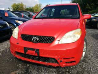 Used 2003 Toyota Matrix 2WD for sale in Stittsville, ON