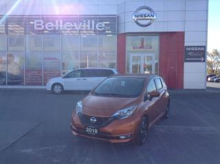 Used 2018 Nissan Versa Note LOOK AT THIS ONE OWNER LOCAL TRADE WITH SNOW TIRES for sale in Belleville, ON