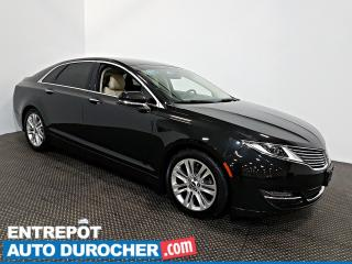 Used 2015 Lincoln MKZ Automatique - AIR CLIMATISÉ - CUIR for sale in Laval, QC